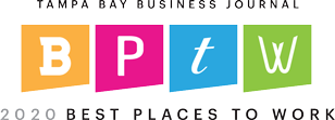 Tampa Bay Business Journal - 2020 Best Places To Work